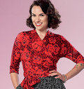 Butterick 6285. Top and Skirt.