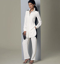Butterick 6294. Tunic and Pants.