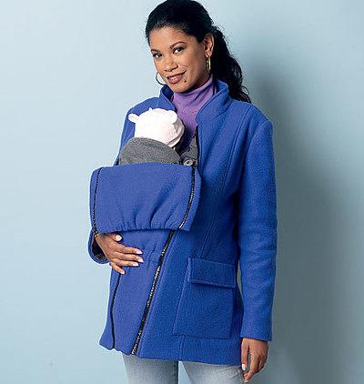 Maternity Vest, Coat and Belt