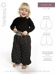Very cute baloon pants with lots of baggy effect for the little ones.