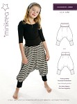 Cute and modern shaped harem pants.