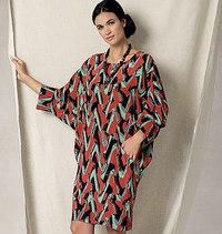 Vogue 1482. BatwingDolman-Sleeve Dress, Rachel Comey.