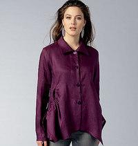 Vogue pattern: Shirt, Marcy Tilton