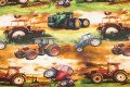 Cotton-jersey with beautiful tractors