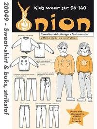 Onion 20049. Sweatshirt and pants .