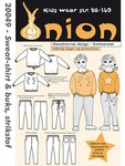 Onion 20049. Sweatshirt and pants .