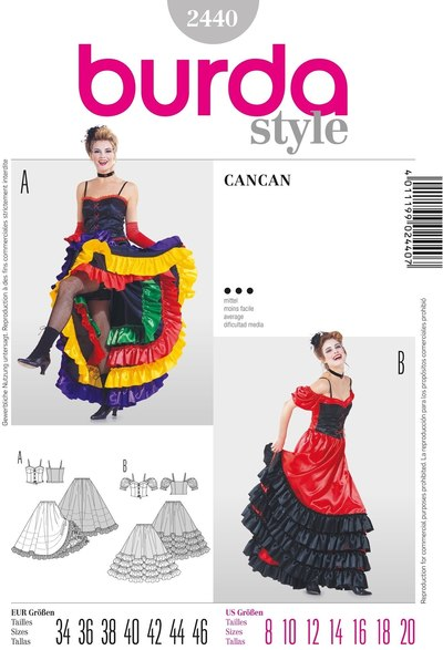 Cancan costume