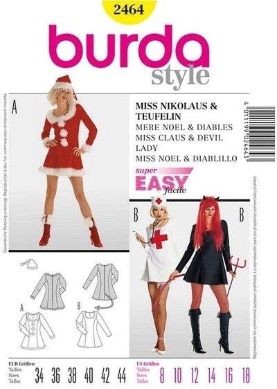 Ms Santa Claus, female devil, nurse