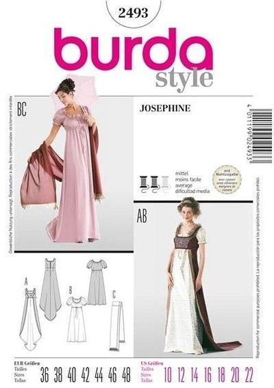 Empire-line dress