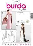 Burda 2493. Empire-line dress.