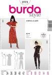 Burda 2773. Suzy Wong dress suit, China dress.