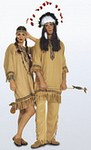 Burda 5815. Red Indian ensemble.