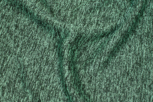 Soft speckled winter-knit in green