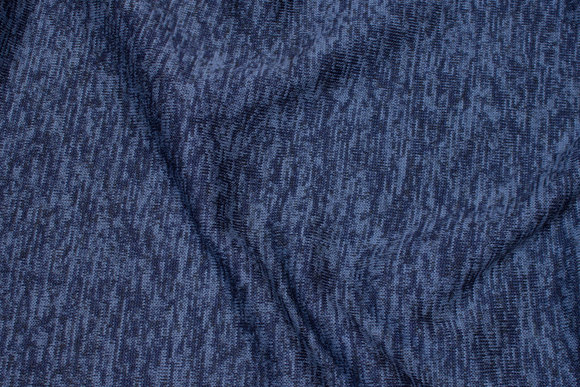 Soft, speckled winter-knit in navy