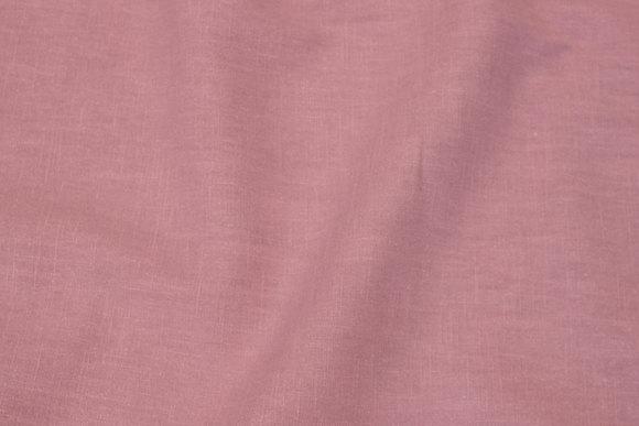 100% linen in light, dusty rosalilla