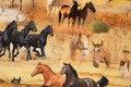 Horses are ca. 13 cm.