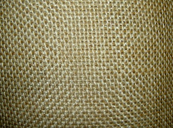 Jute for embroidery