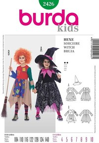 Witch. Burda 2426.