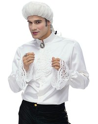 Mozart shirt with decoration. Burda 2433.