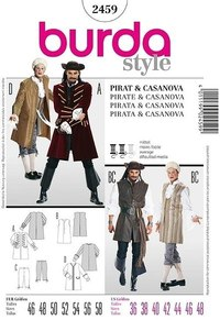 Pirate, Casanova. Burda 2459.