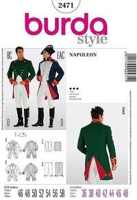 Napoleon costume. Burda 2471.