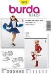 Burda 2472. Cheerleader girl.
