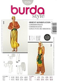 Oriental Ensemble. Burda 2526.