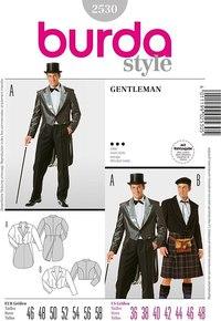 Gentleman. Burda 2530.