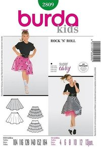 Rock 'n' Roll Girl. Burda 2809.