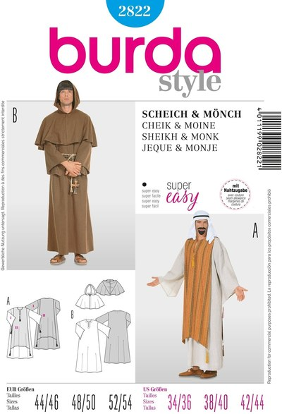 Men's caftan, monk's habit, Sheik