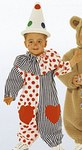 Teddy bear costume, bear, clown
