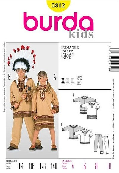 Red Indian Ensemble for kids