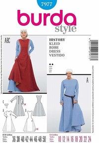 Historic Dress. Burda 7977.