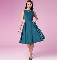 Dress. Butterick 6094.