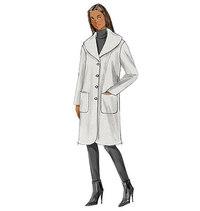 Coat. Butterick 6107.