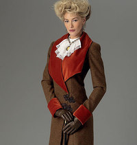 Jacket, Bib and Skirt. Butterick 6108.