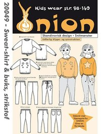 Sweatshirt and pants . Onion 20049.