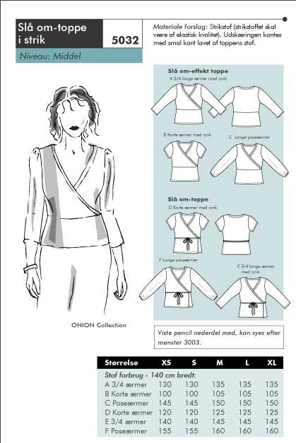 Wrap-around shirt
