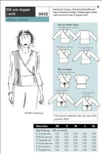 Wrap-around shirt. Onion 5032.