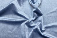 Beautiful, dove-blue rokoko-velvet with light shiny surface