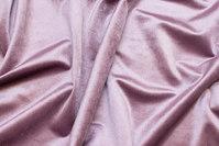 Beautiful, light dusty-purple rokoko-velvet with light shiny surface