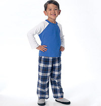 Children´s Boys´ Top, Shorts and Pants. Butterick 6278.