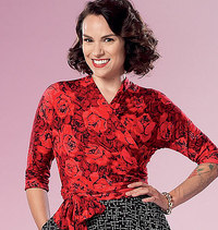 Top and Skirt. Butterick 6285.