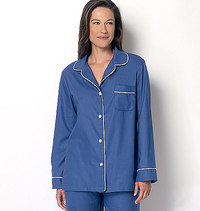 Top, Shorts and Pants. Butterick 6296.
