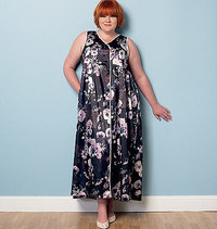 Robe, Belt and Negligee. Butterick 6300.