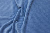 Dove-blue jersey-corduroy
