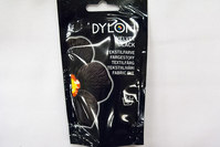 Dylon textile color black