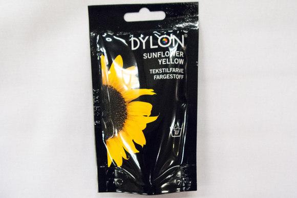 Dylon textile color sunflower yellow