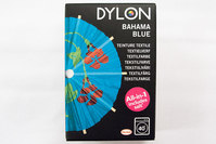 Dylon textile washing machine dye, bahama blue