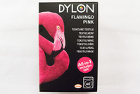 Dylon textile washing machine dye, flamingo pink